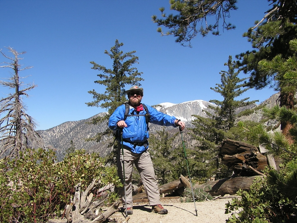 April 12, 2008 - Mt Baldy in background
