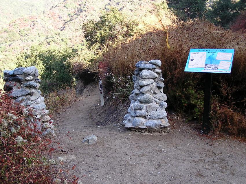 Trailhead - October 5, 2008